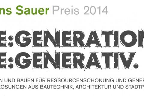 Hans-Sauer-Preis 2014