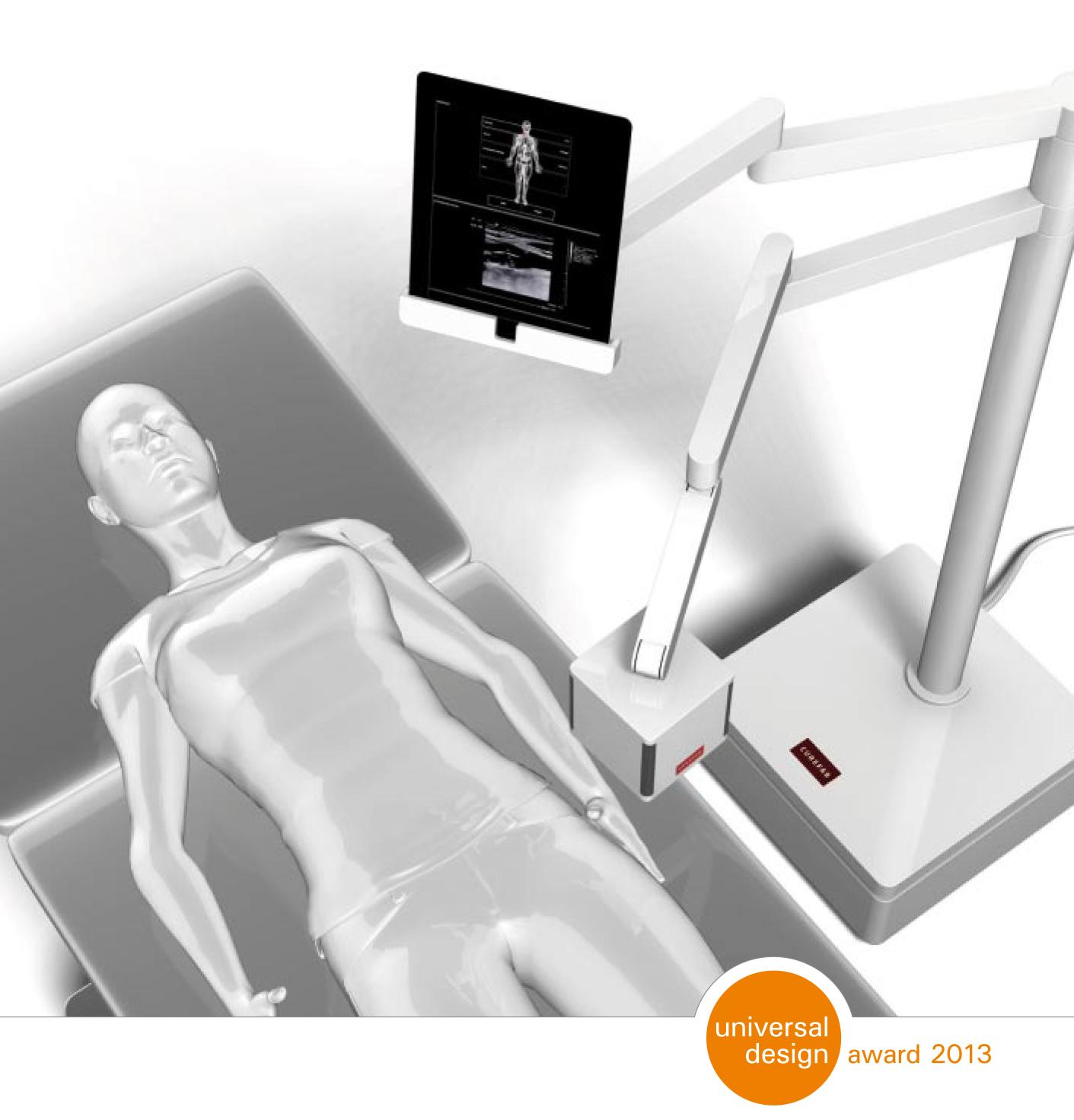 Foto - Curefab 3D-Ultraschallgerät 1 © Verena Voppichler, Technische Universität München
