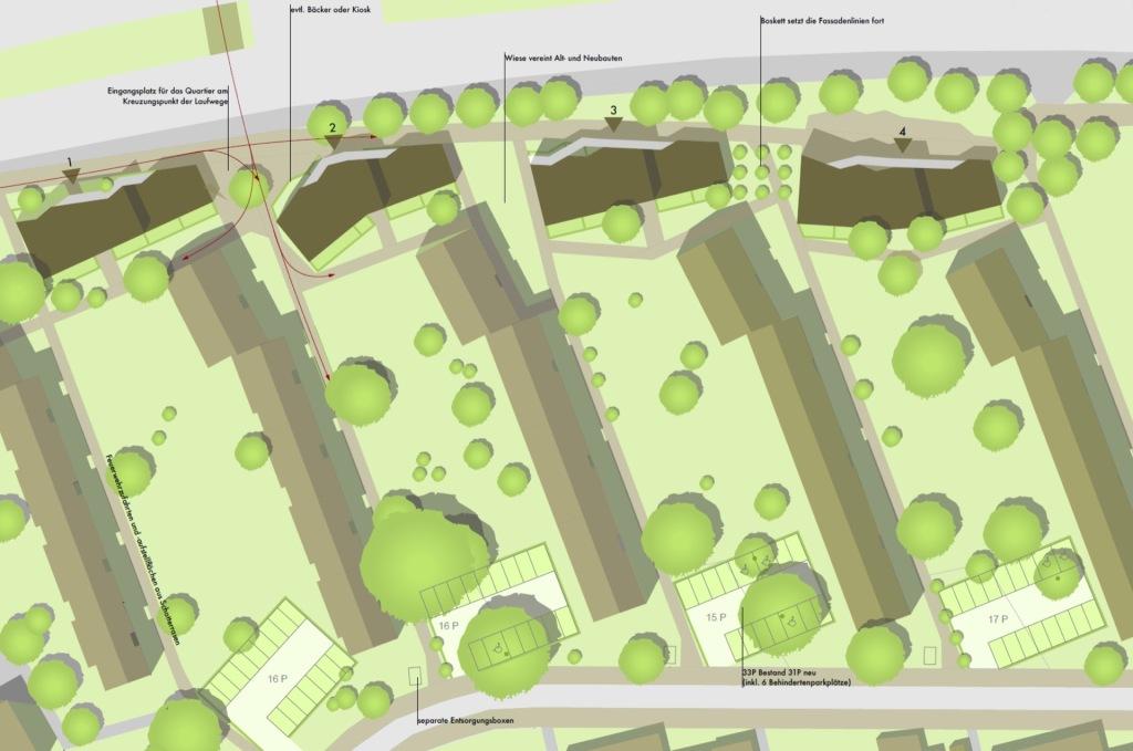 Lageplan © Wirth Architekten