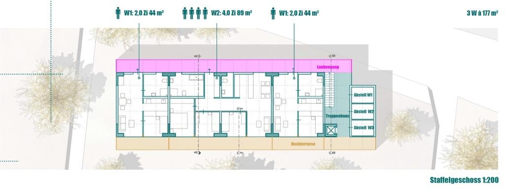 Grundrisse © Seyfarth Stahlhut Architekten BDA PARTGMBB