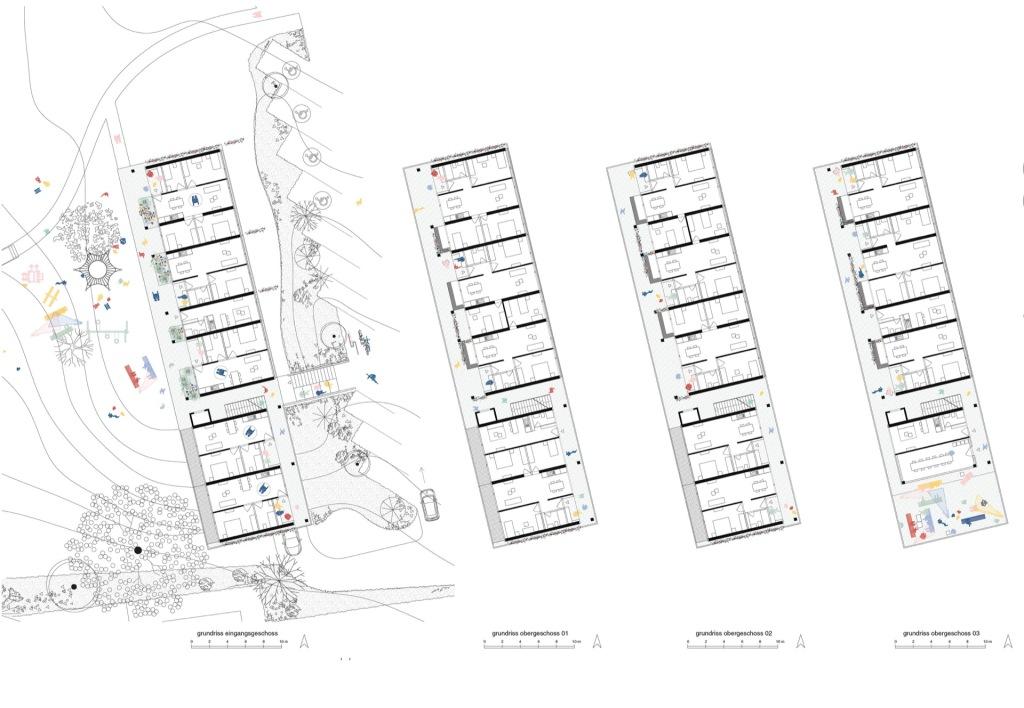 Grundrisse © Architekten Höhlich und Schmotz