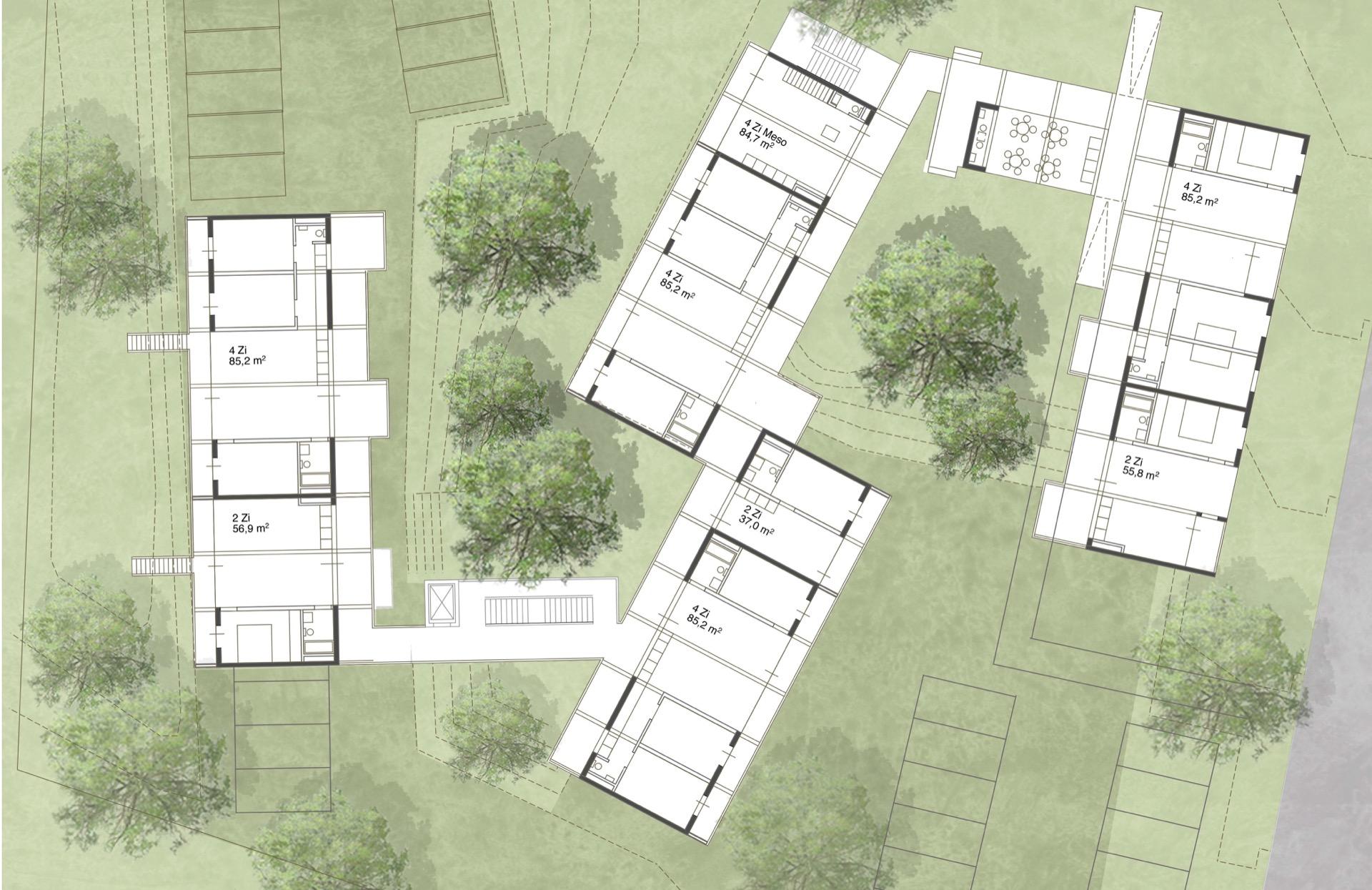Grundrisse © Welp von Klitzing Architekten Stadtplaner