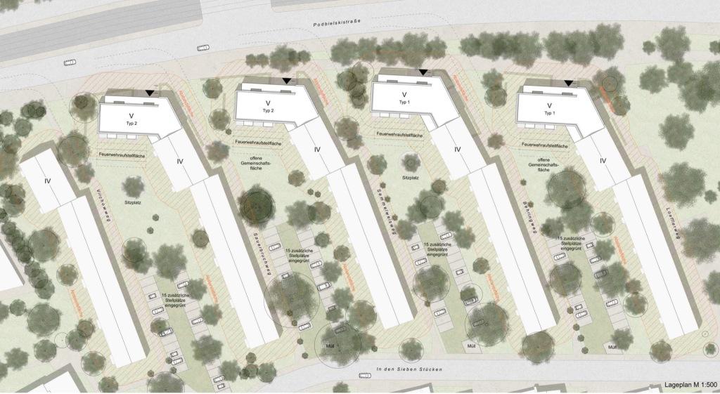 Lageplan © btp architekten brandenburg tebarth partnerschaft mbB