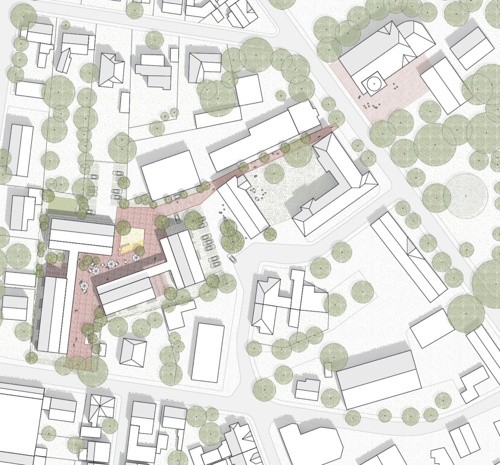 Lageplan © N2M Architektur & Stadtplanung GmbH + fehlig moshfeghi architekten GbR