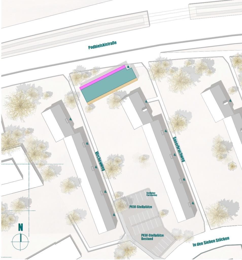 Lageplan © Seyfarth Stahlhut Architekten BDA PARTGMBB