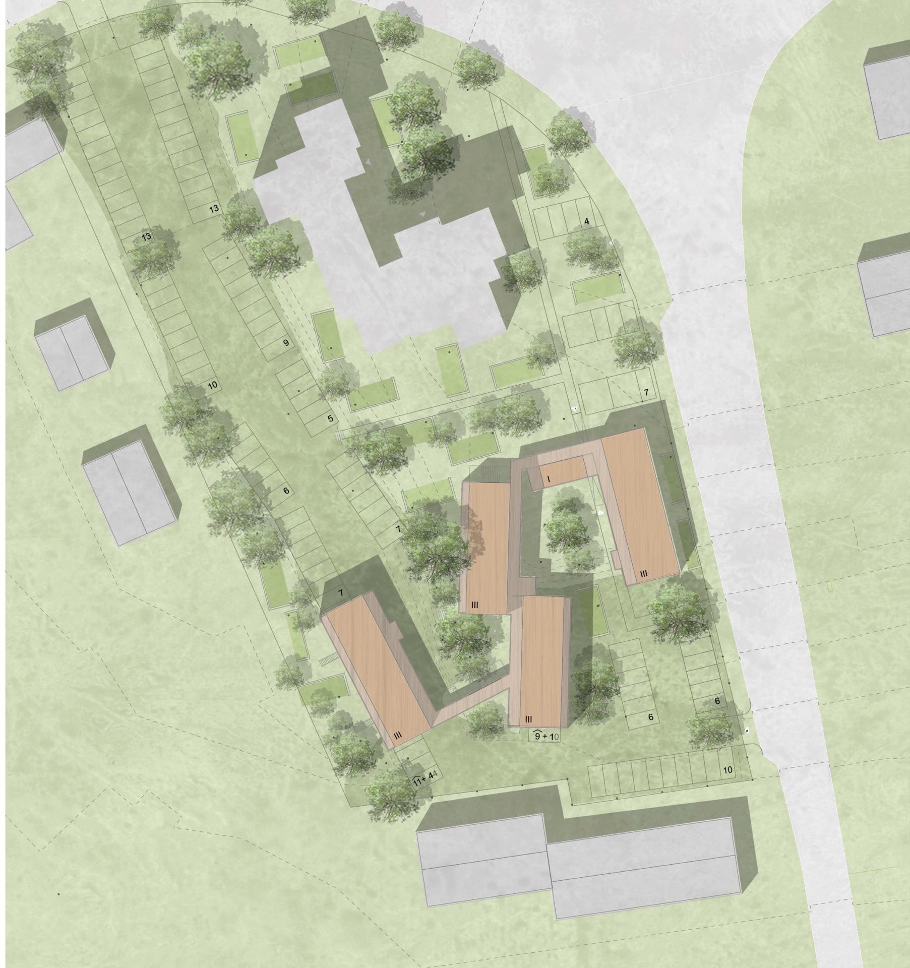 Lageplan © Welp von Klitzing Architekten Stadtplaner