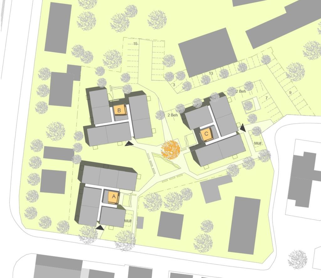 Lageplan © martens sternkopf architekten stadtplaner