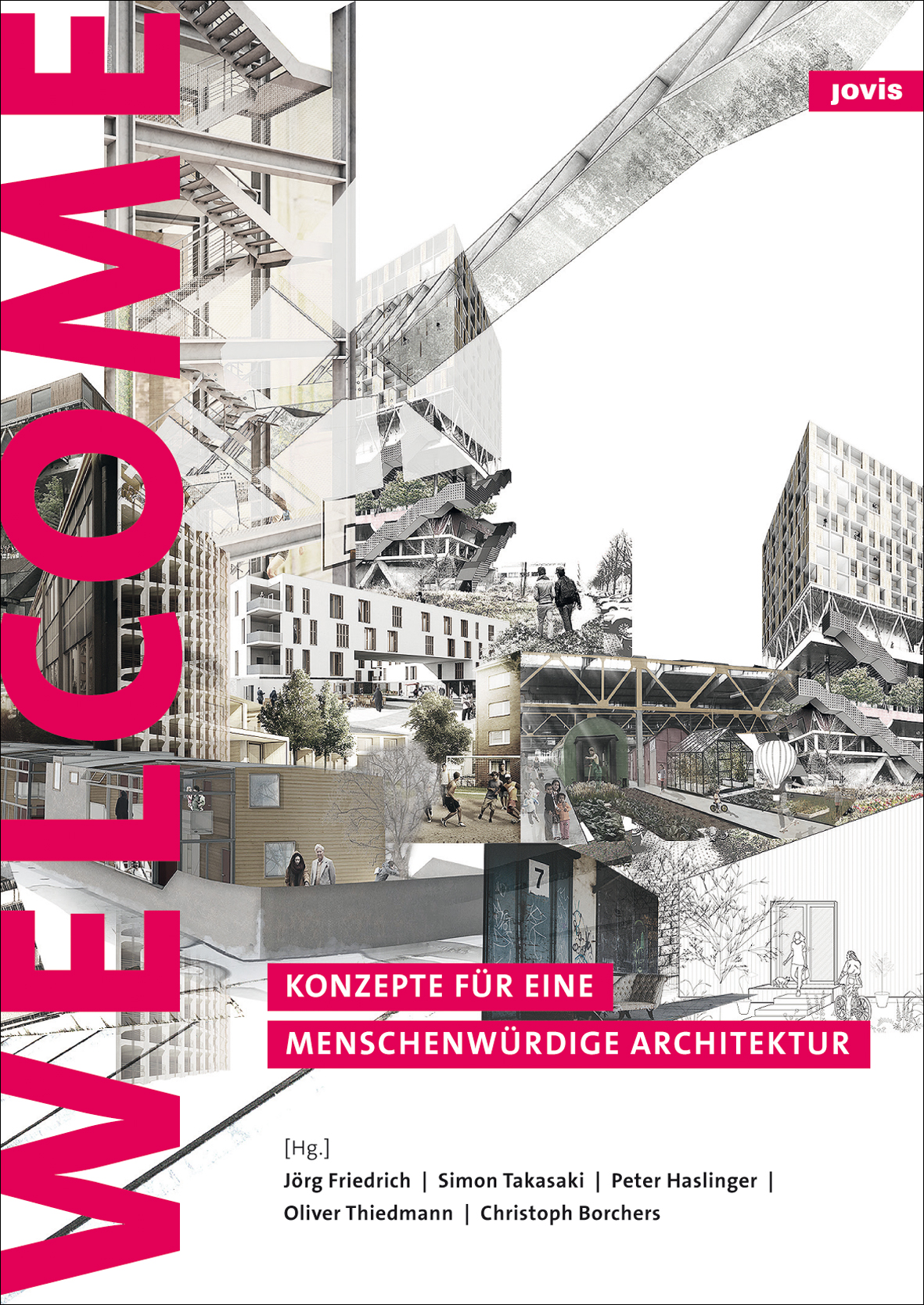 Cover © Refugees Welcome JOVIS Verlag