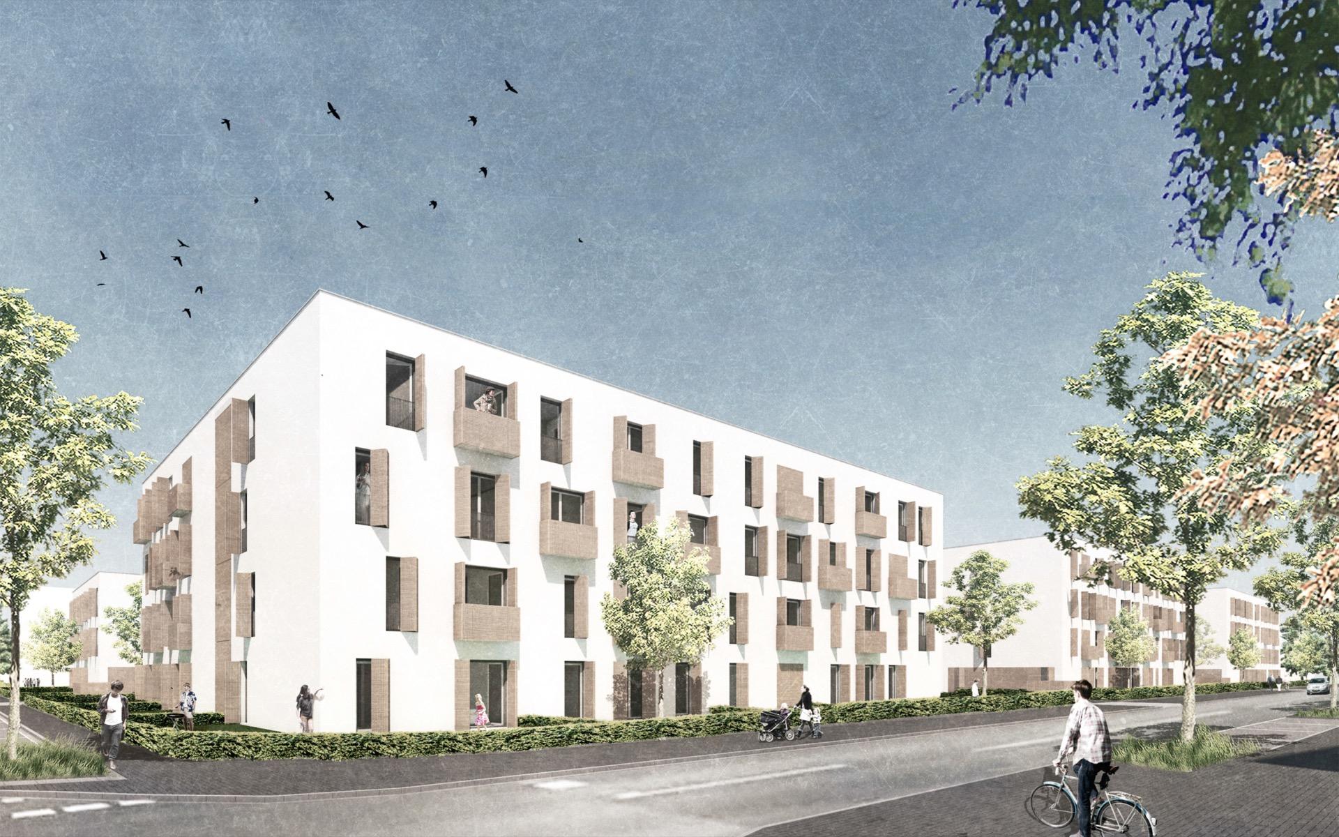 Visualisierung © Architekten BDA Feldschnieders + Kister