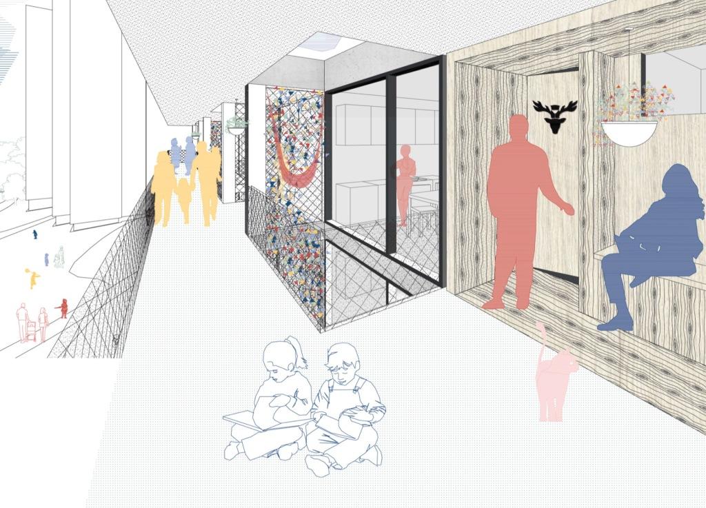Visualisierung © Architekten Höhlich und Schmotz