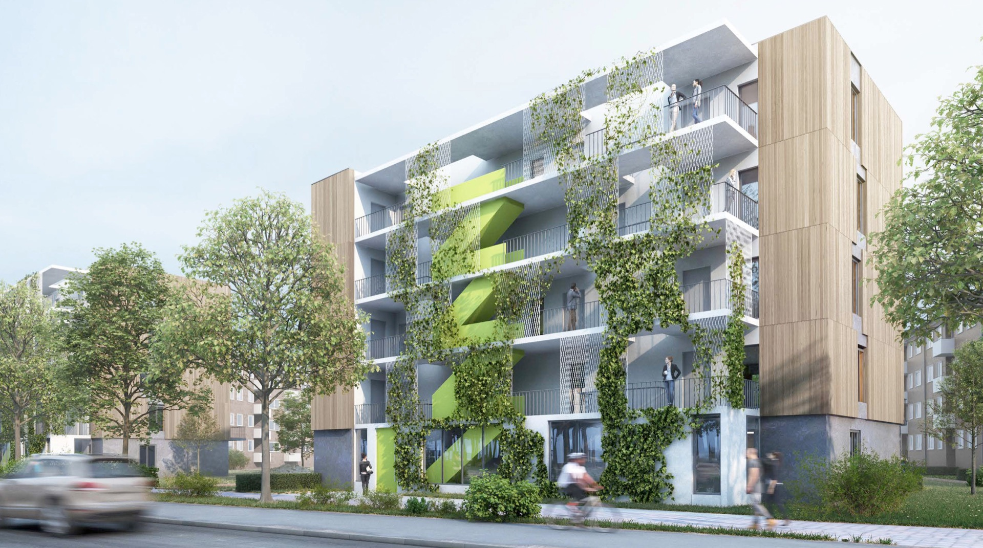 Visualisierung © btp architekten brandenburg tebarth partnerschaft mbB