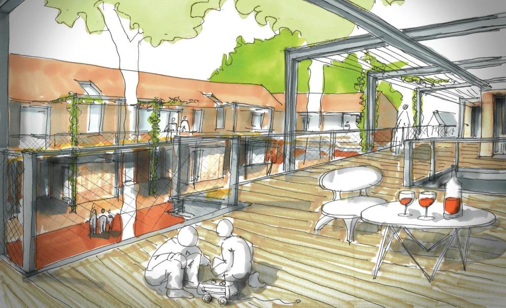 Visualisierung © N2M Architektur & Stadtplanung GmbH + fehlig moshfeghi architekten GbR