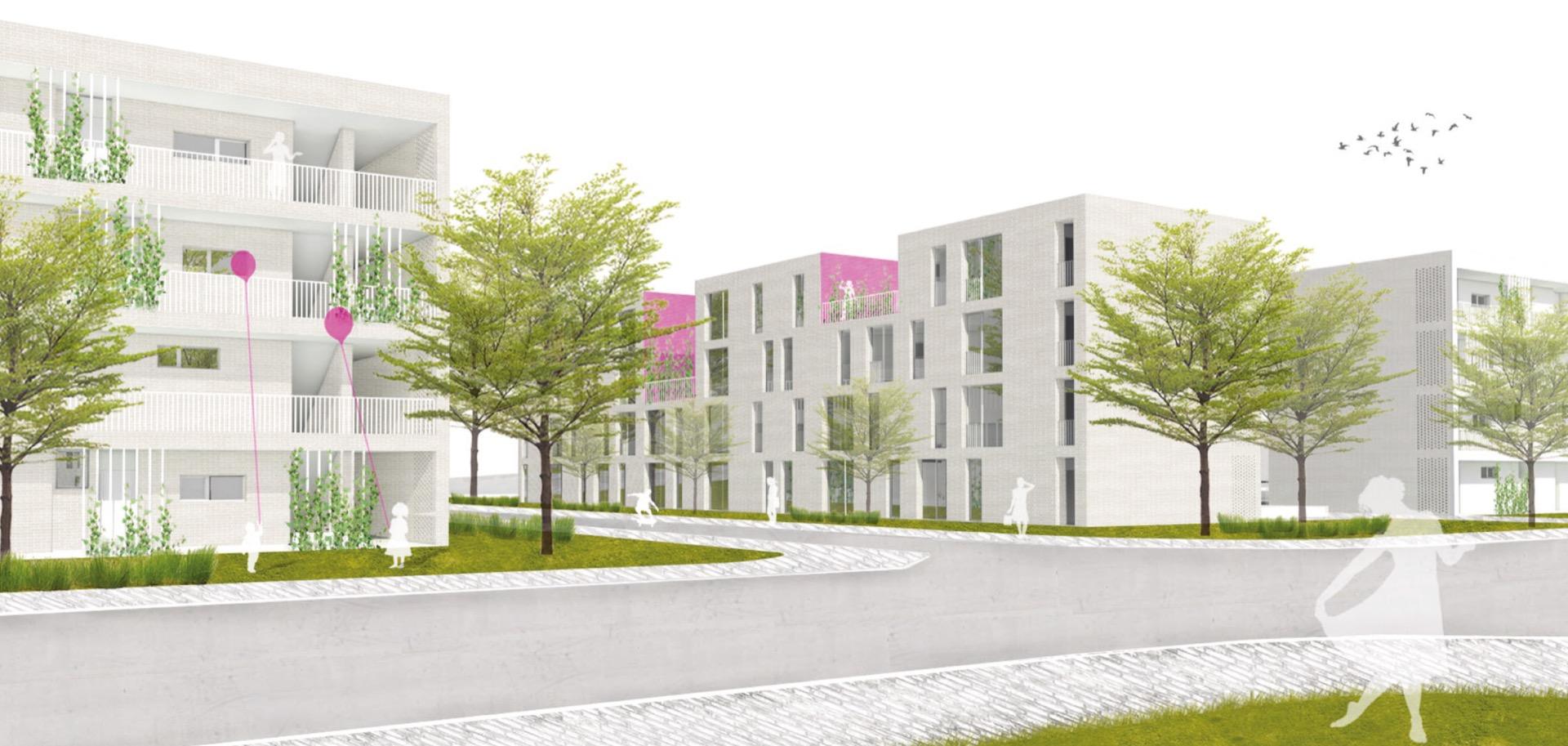 Visualisierung © Hartmann Eberlei Architekten